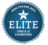 Healthcare dot gov Logo Awards Section for great Employee Benefits Service and About Healthfirm Benefits