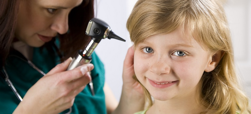 Little girl with doctor using Individual Health Insurance Plan
