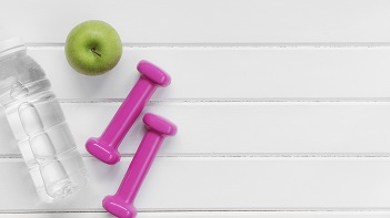 Wellness workout tools as an employee benefits.